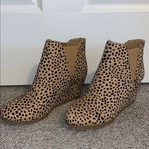 🐆Cheetah print Booties🐆